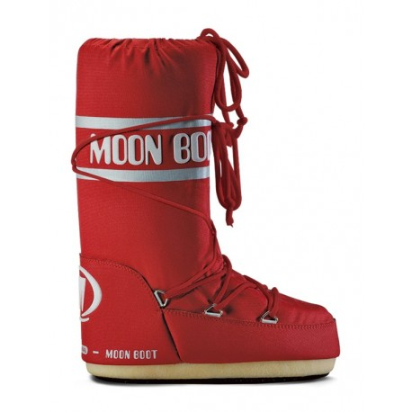 Moon Boot Nylon red