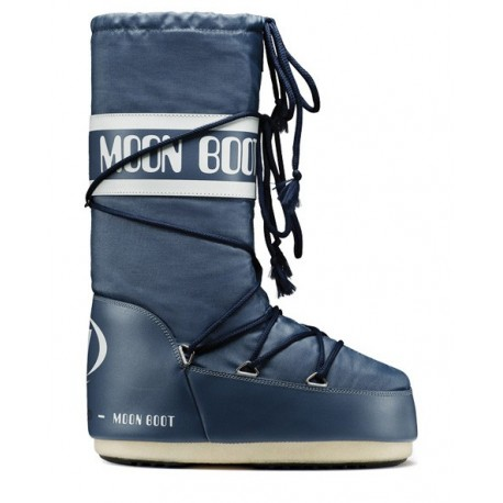 Moon Boot Nylon denim