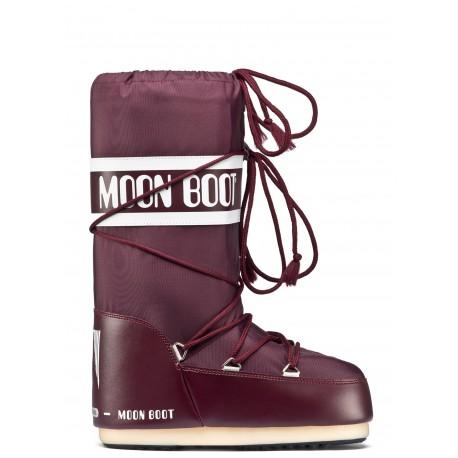 Moon Boot Nylon burgundy